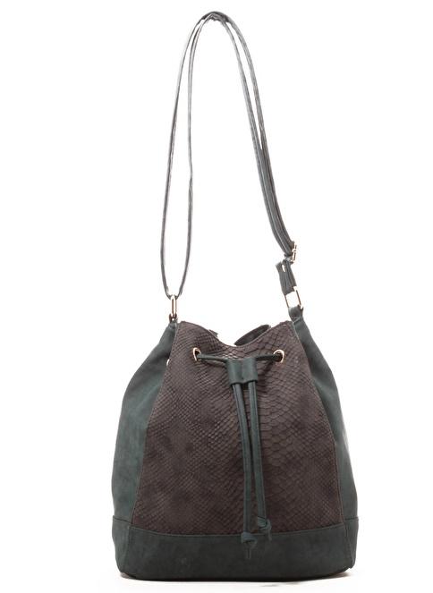 Gio&Mi Messenger / Askılı Çanta Yeşil